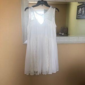 White O-Ring Dress!